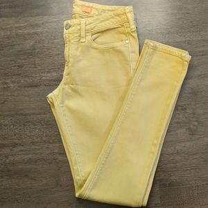 Pilcro and the Letterpress Fit Stet Mustard Size26